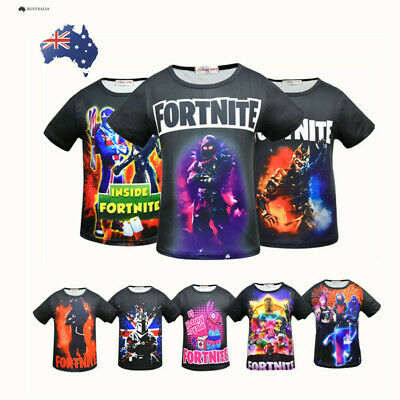 Boys Cool Fortnite T-shirts Inspired PS4 Xbox Gaming Unisex Kids T-shirt Tee