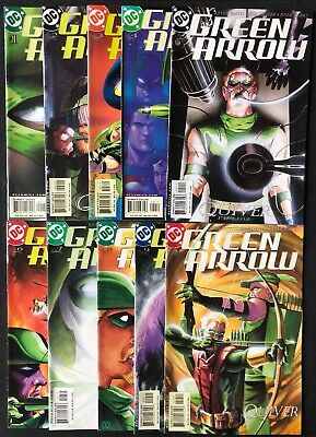 Green Arrow #1-10 Quiver Complete Kevin Smith
