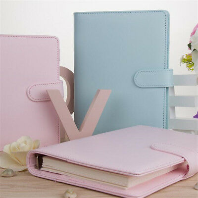 A5 Weekly Monthly Planner Diary Classic Loose-Leaf-Ring-Binder Notebook Cover !