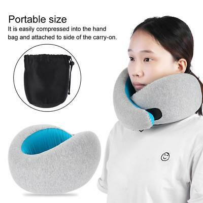Memory Foam Shaped Travel Pillow Neck Support Head Rest Airplane Cushion Gift US