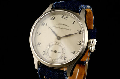 IWC International Watch Co Schaffhausen Chronometre Marriage Watch