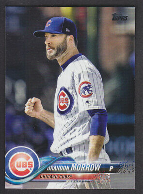 Topps Update 2018 - Base US211 Brandon Morrow - Chicago Cubs