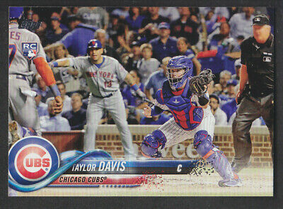 Topps Update 2018 - Base US229 Taylor Davis - Chicago Cubs RC