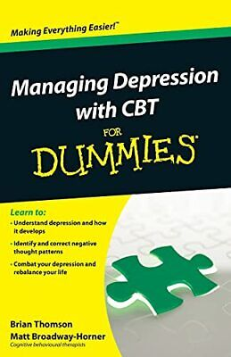 Managing Depression with CBT For Dummies by Broadway-Horner, Matt Book The Cheap