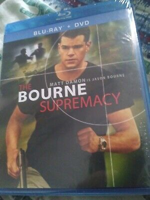 The Bourne Supremacy bluray + DVD NEW