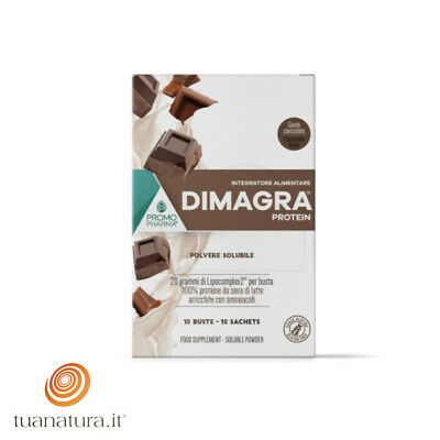 Dimagra Protein gusto Cacao 10 buste PromoPharma