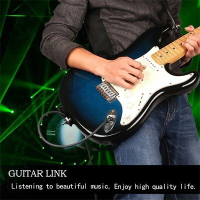 """Electric Guitar Amp Lead Instrument Cable Audio 6.35mm 1/4"""" Jack Male-Male T#"""