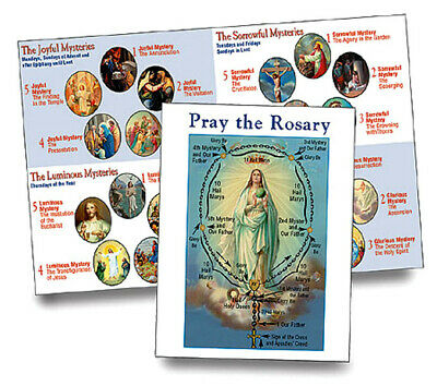 photograph about Luminous Mysteries of the Rosary Printable known as HOW In direction of PRAY the Rosary Illustrated Pamphlet Consists of