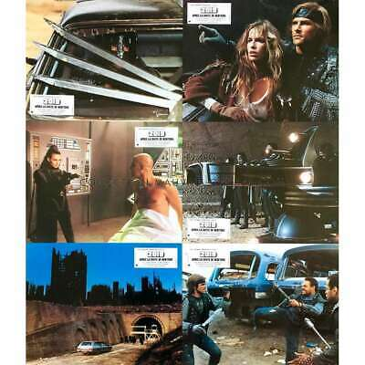 2019 AFTER THE FALL OF NEW-YORK Original Lobby Cards x6 - 9x12 in. - 1983 - Serg