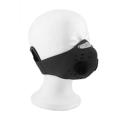 Outdoor Face Mask Activated Carbon Protective Filter Wind-proof Mouth-muffl DF