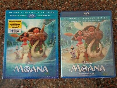 Moana: Ultimate Collector's Edition (3D/Blu-ray/DVD/Digital HD) 786936852370