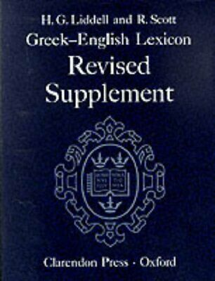 Greek-English Lexicon: Supplement Hardback Book The Cheap Fast Free Post