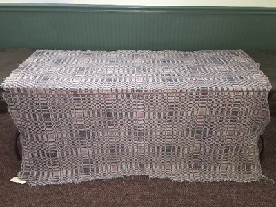 "Homespun COVERLET  60"" x 72"" Smoke-free environment"