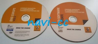 Renault CNC DVD Bluetooth v32.2 FULL EUROPE + Update CD (LAST VERSION MAPS)