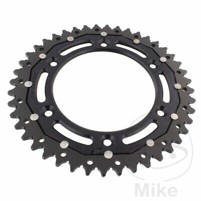 ZF Rear Sprocket 44T 520P ZFD-897-44-BLK Dual Black KTM EXC-F 500 Sixdays 2018