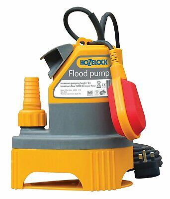 Hozelock High Flow Automatic Flood Water Pump