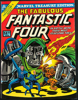 1976 Marvel Treasury Edition Fantastic Four #11 (Nm-Mint)