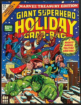 1976 Marvel Treasury Edition Giant Superhero Holiday Grab-Bag #13 (Nm)