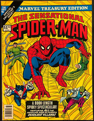 1977 Marvel Treasury Edition Sensational Spider-Man #14 (Nm)