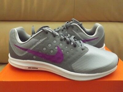 a3f02a19b411 Nike Downshifter 7 Women s Shoes Size 11 Cool Grey Hyper Violet 852466-011  NEW