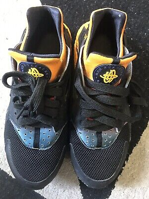 27c8075eb9f7 Nike Air Huarache Run Sd Galaxy Black persian Violet Sz Men s 9.5  724764-