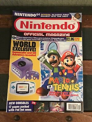Official Nintendo Magazine - Issue 97 - Oct 00 - Mario Tennis - Nintendo 64