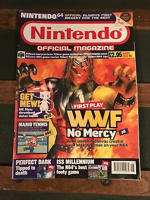 Official Nintendo Magazine - Issue 95 - Aug 00 - WWF No Mercy - Nintendo 64