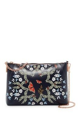 eb7d0d1d01e8af TED BAKER LONDON Marissa Kyoto Gardens Leather Crossbody Bag Holiday Gift  NWT