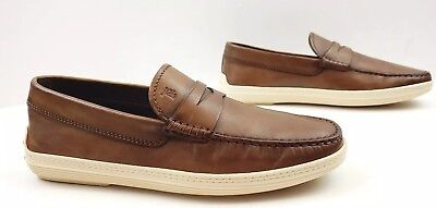 6653d4468546c4 TODS MENS DRIVING penny Loafers Size 7 US 6 UK Excellent -  94.50 ...