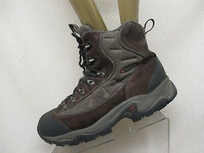 919fb2c584c COLUMBIA BROWN SUEDE Gore Tex Lace Up Hiking Boots Mens Size 10 Style  3215901