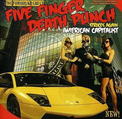 Five Finger Death Punch - American Capitalist [New CD] Clean
