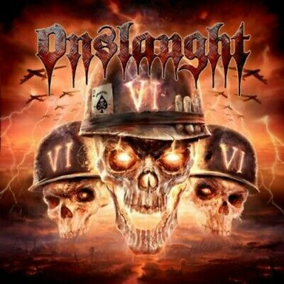 Onslaught - VI [New CD] Afm Records