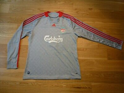 36df525be16 adidas Liverpool TORRES  9 Away long sleeves football shirt 2008 - 2009  Size XL