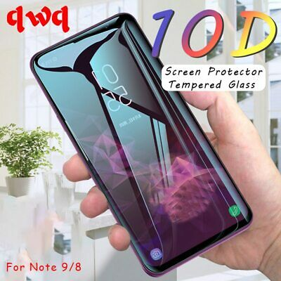 Curved Screen Protector Tempered Glass On The For Samsung Galaxy S9 S8 S7 Note 8