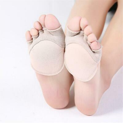 Silicon Gel Heel Cushion Insoles Soles Relieve Foot Pain Spur Support Pad H