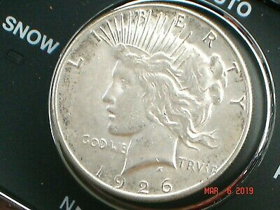1926-S $ Silver Peace Dollar *Grand Pa's Collection* Better Date, High Grade