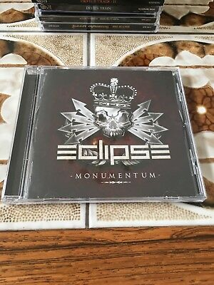 Eclipse - Monumentum (Metal) (CD, 2017, Frontiers Records) VG