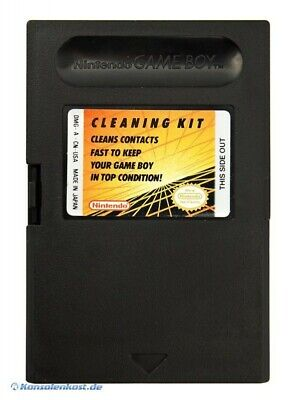 GameBoy - Original Nintendo Cleaning Kit / Kontaktereiniger