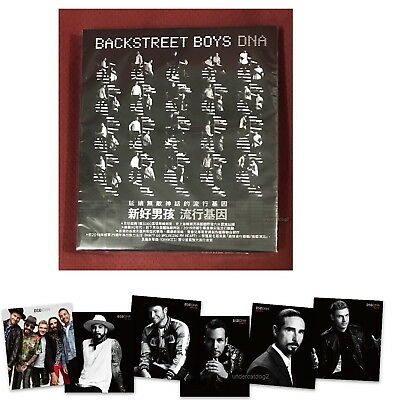Backstreet Boys Dna 2019 Taiwan Ltd CD+6 Calendar cards