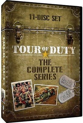 Tour Of Duty: The Complete Series - 11 DISC SET (2015, DVD New)