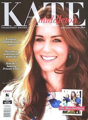 Kate Middleton ~ Closer Magazine Collector's Edition 250+ Photos Royals 2018 New