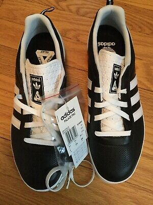 fe345842291c ADIDAS X PALACE Pro Skateboard Shoe Black White US 9 U.K. 8.5 Indoor ...