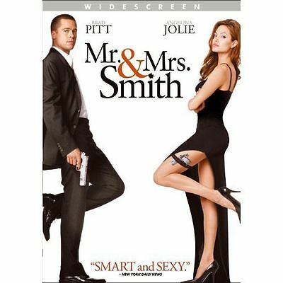 Mr. and Mrs. Smith (DVD, 2009, Widescreen) IN SLIM CASE, NO ART 01