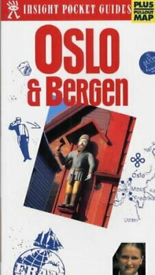 (Very Good)9812342354 Oslo and Bergen Insight Pocket Guide,,Paperback,APA Public