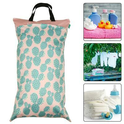 Baby Organizer Bag Portable Diaper Washable Dry Wet Nappy Storage Pouch