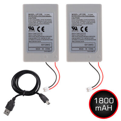 1800mAh 3.7v Replacement Battery Pack for PS3 Playstation 3 Controller AC1746