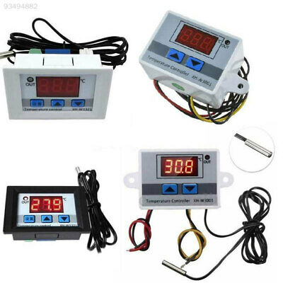 387B 10A Incubator All-Purpose Thermostat Control Probe Digital 12V/24V/220V
