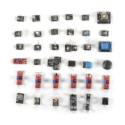 37in1 Seners Modules Robot Projects Starter Kits for Arduino Raspberry pi TE1124