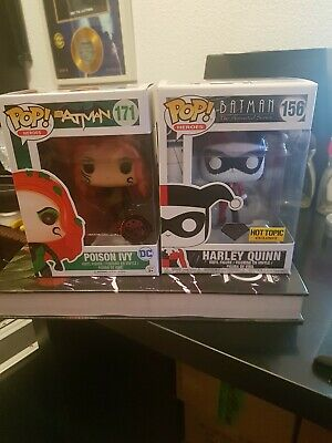 Harley Quinn Diamond Hot Topic & Poison Ivy Exclusive Pack Heroes