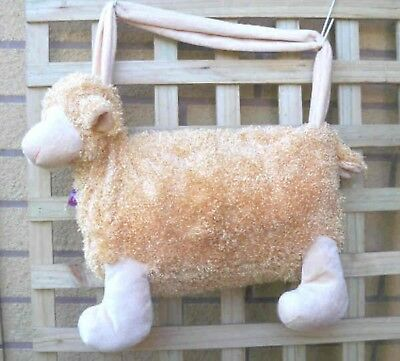 Sheep Shape Bag perfect for the knitting or Crochet enthusiast, BNWOT
